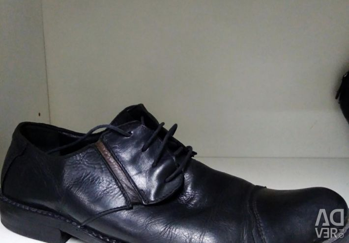 Shoes man's nat, skin
