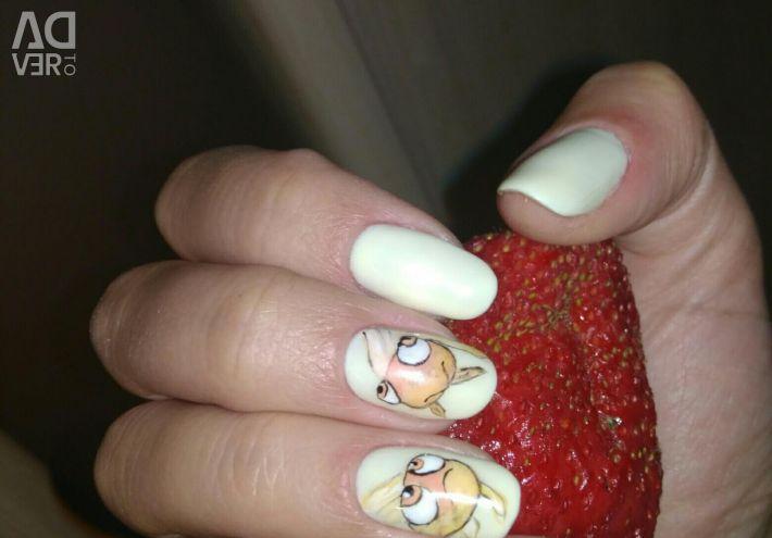 Nail design, manicure. M. Parnas