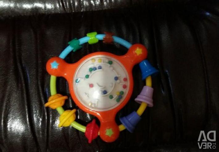 Τα πρώτα παιχνίδια του μωρού