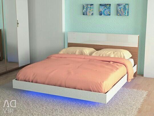 Yatak çerçevesi 2x13 200x160