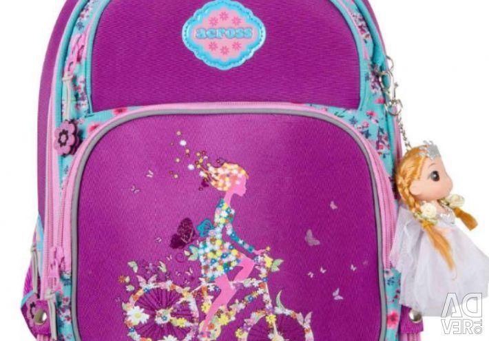 Schoolbag sırt çantası okul ACROSS