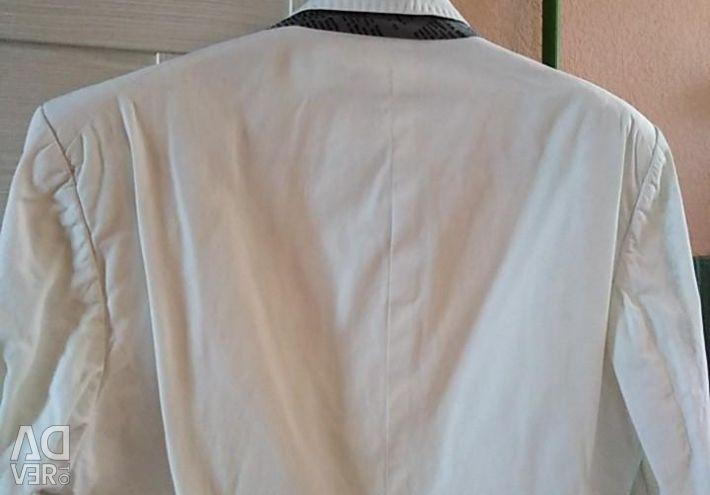 Jacket man's white r 52