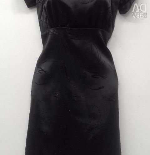 Satin dress. New.