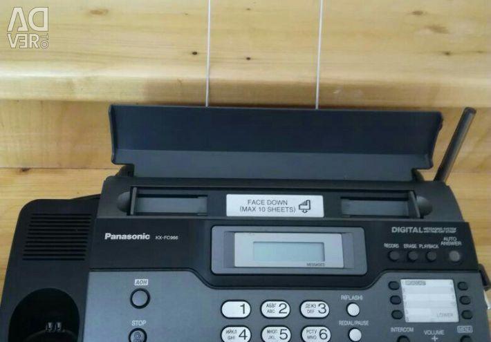 Telefon fax Panasonic nou!