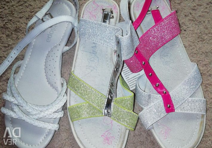 New leather sandals for your princess