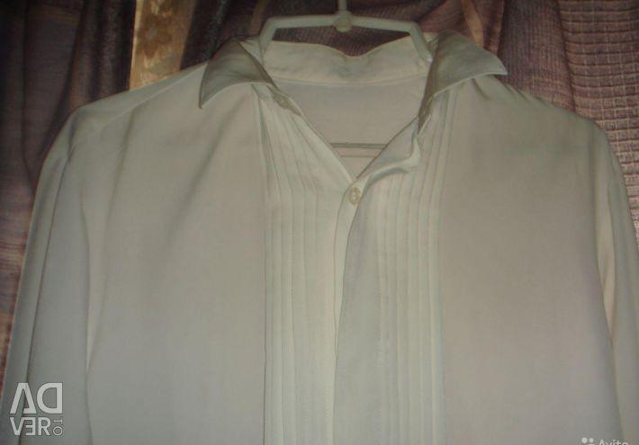 Doğal ipek gömlek