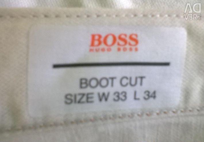 Καλοκαιρινό παντελόνι hugo αφεντικό νέο