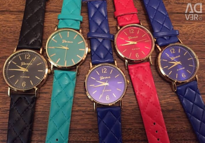 NEW Geneva watches (1 free)