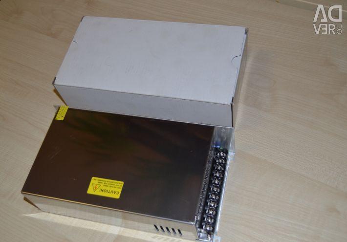 Power Supply HTS-600M-24 (24V, 25A, 600W)