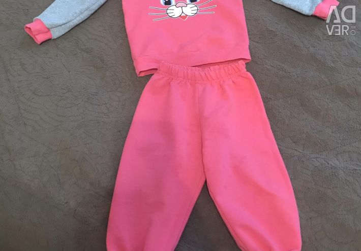 Suit for the girl growth80