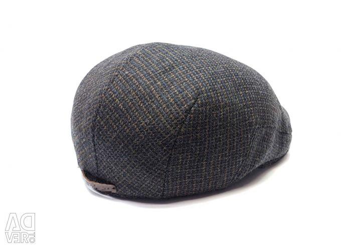 Cap man's woolen 705 raglan (brown)