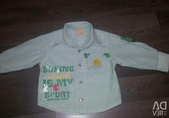 Shirt 2 in 1 per boy