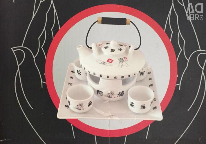Чайный набор. Керамика.Драгон Сидс. Гонконг.