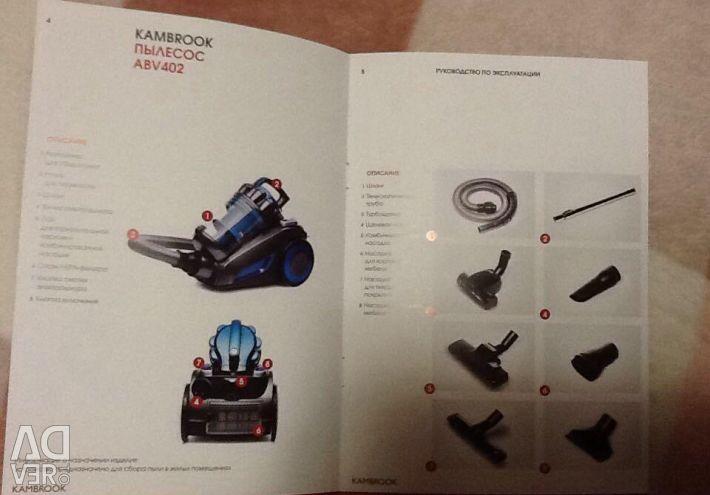 Vacuum cleaner KAMBROOK ABV402