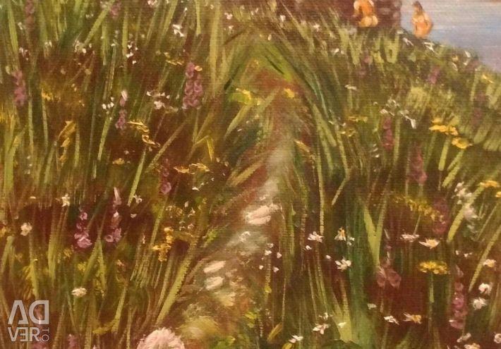 Picturi pe ulei pe panza