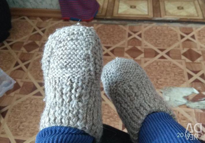 Çorap, patik örme.