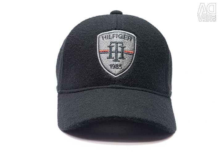 Бейсболка вовняна чоловіча Tommy Hilfiger shield