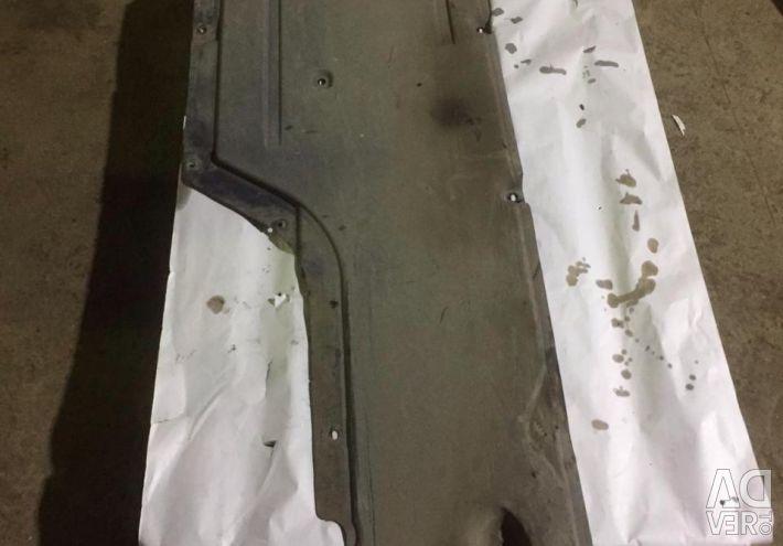 Underbody protection bmw bmw e60 7070179 left trim