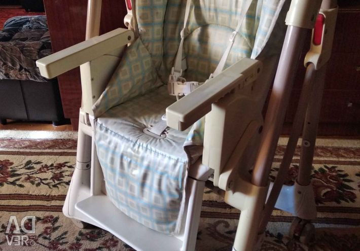 Highchair for baby feeding