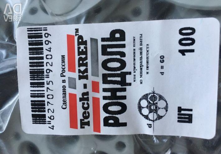 Rondol Tech-Krep60mm, suport pentru izolație termică
