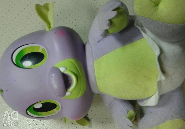 Jucărie Dragon Spike