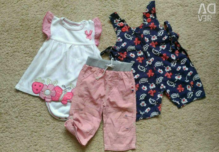 Pachet de îmbrăcăminte pentru copii de dimensiune 68