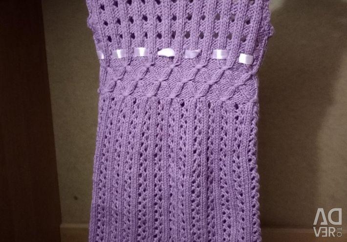 Knitted dress sundress