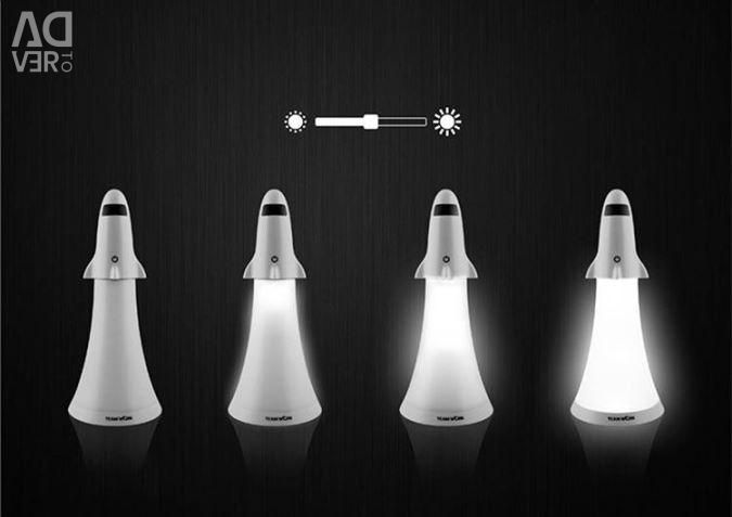 Rocket Touch Lamp