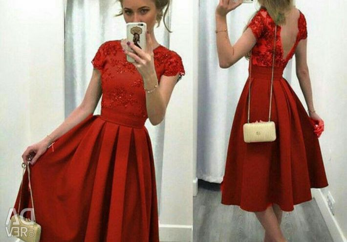2 colors! Retro dresses with embroidery. New. p.42-46.
