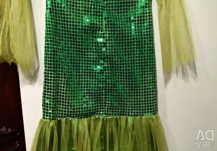Mermaid's dress.