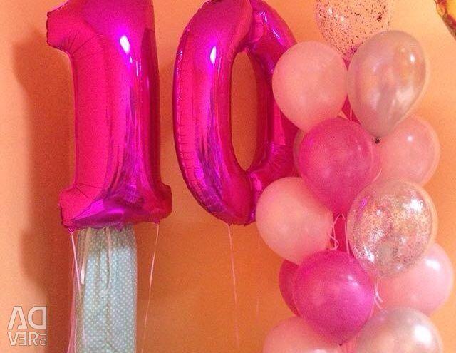 Μπαλόνια ηλίου για κάθε γούστο και χρώμα)