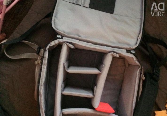 Photo backpack, new