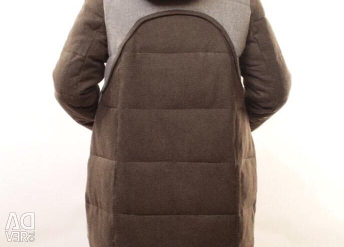 New cashmere down jacket r.s 44 to 54