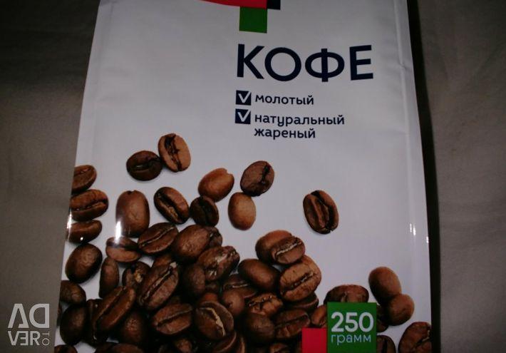 Αλεσμένος καφές 250g.