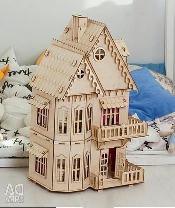 Mobilya ile kukla harika ev