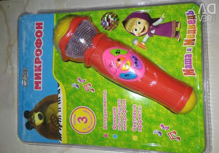 Microfonul Masha și ursul sunt noi