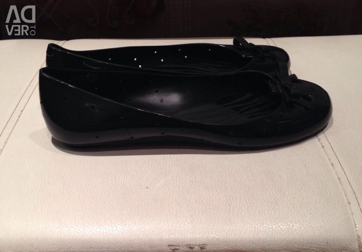 Shoes Pantofi de balet negru Grendha 38 Brazilia nouă