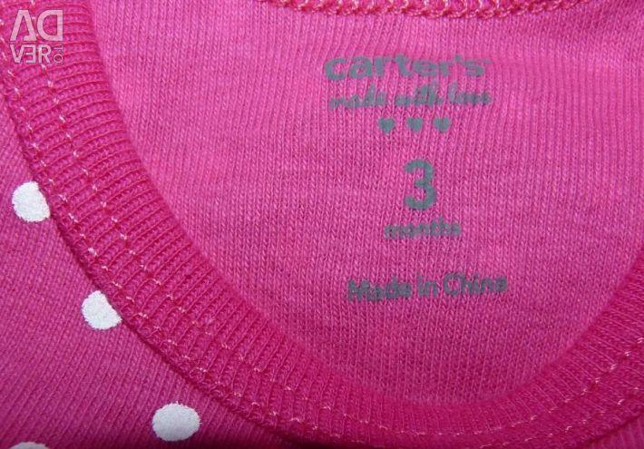 Carters Carters Ροζ Λευκό Polka Dot Νέο