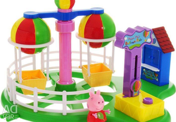 Carousel Peppa Domuz Luna Parkı