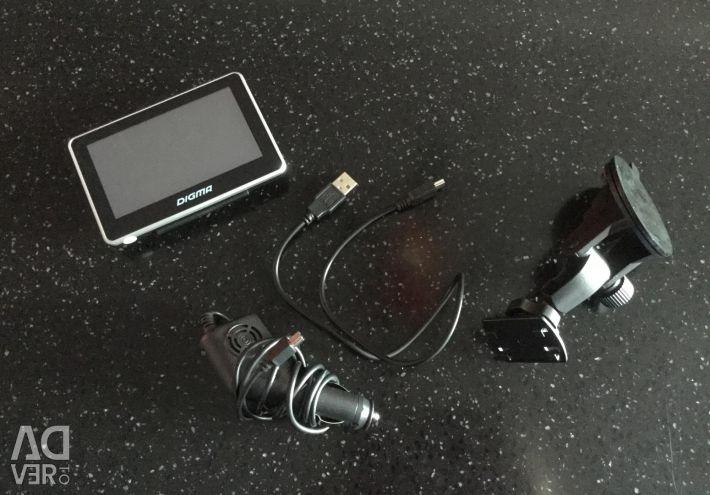 Φορητό GPS Navigator Digma AllDrive 400