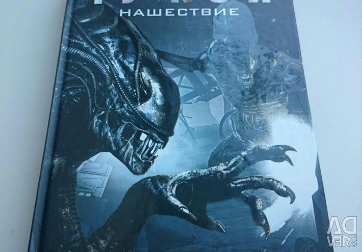 Alien Invasion Book.