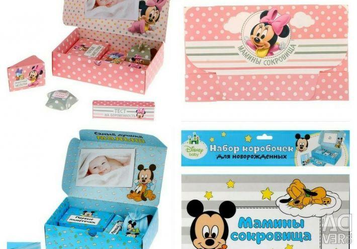 Set of Mother's treasures for newborns