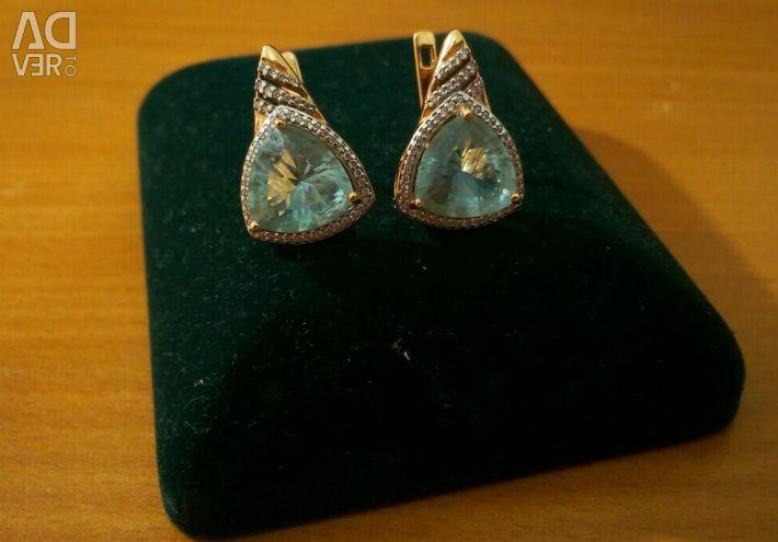 Earrings 585 sample