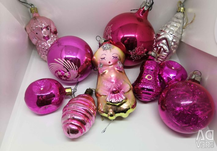 Christmas decorations of the USSR