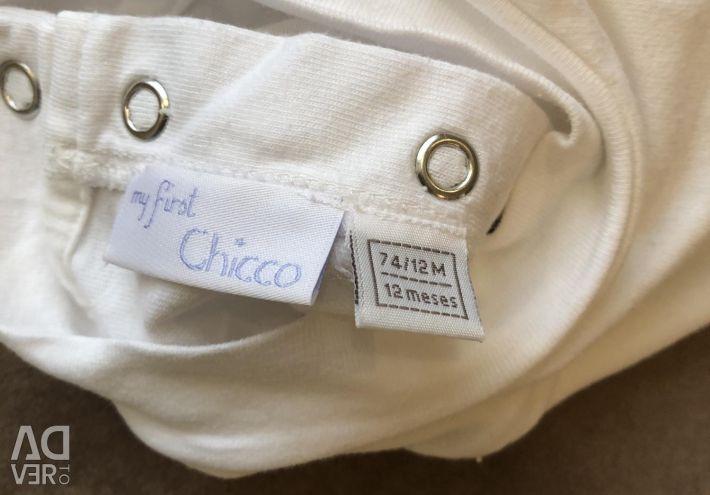 Chicco turtleneck long sleeve
