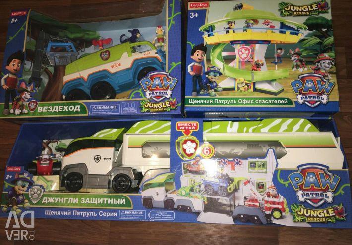 Paw Patrol series Jungle. New items