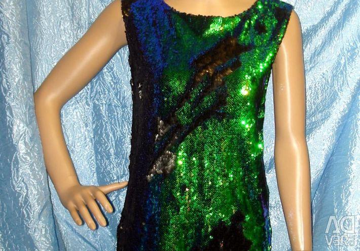 Φόρεμα με πούλιες, χαμαιλέοντας. ρ 48-50