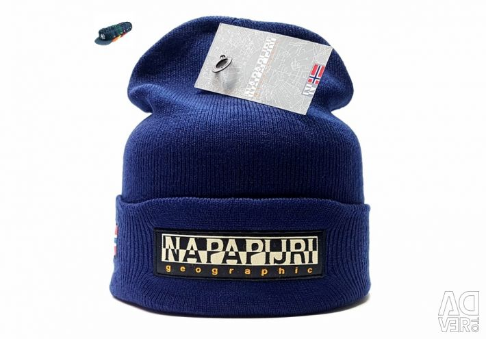 Hat Napapijri Geographic (dark blue)