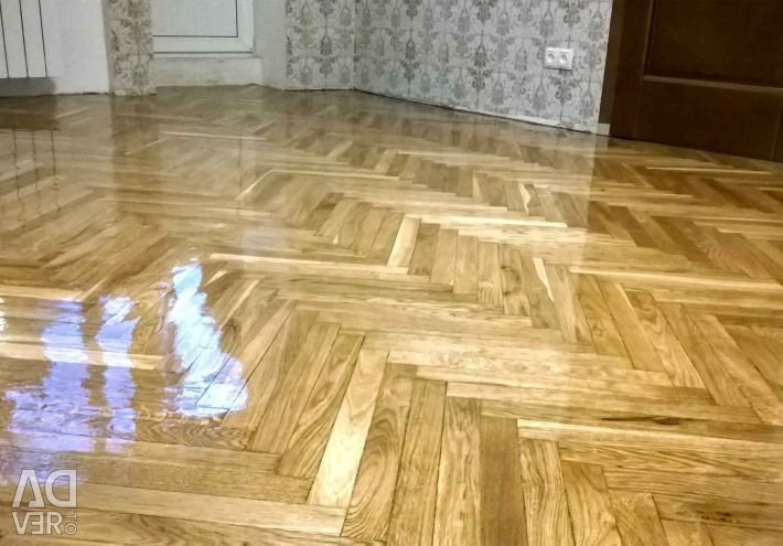 Parquet looping