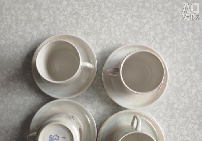 USSR coffee set